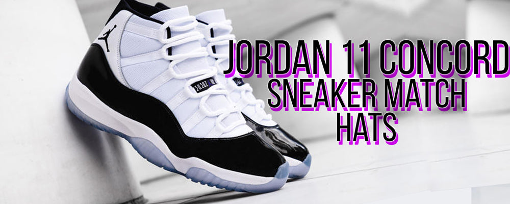 Shop hats to match your pair of Jordan 11 Concord sneakers