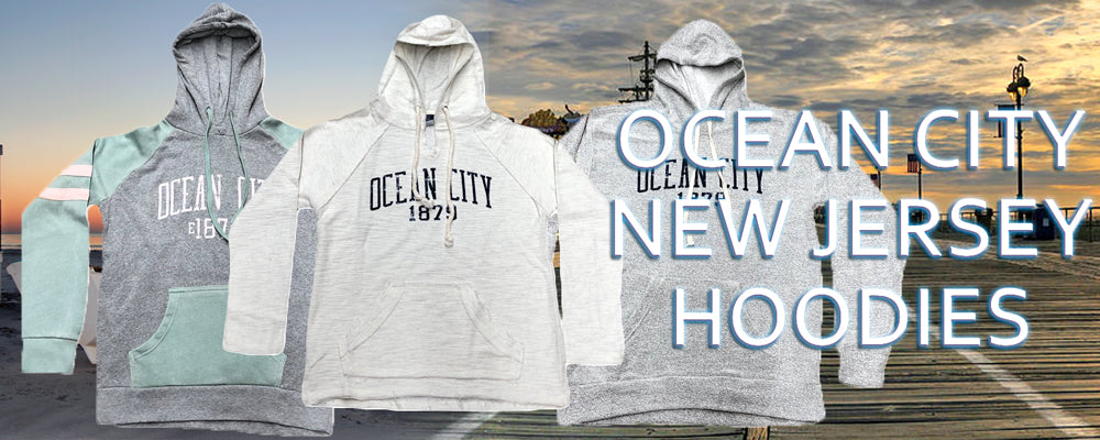 Shop all Ocean City New Jersey Hoodies