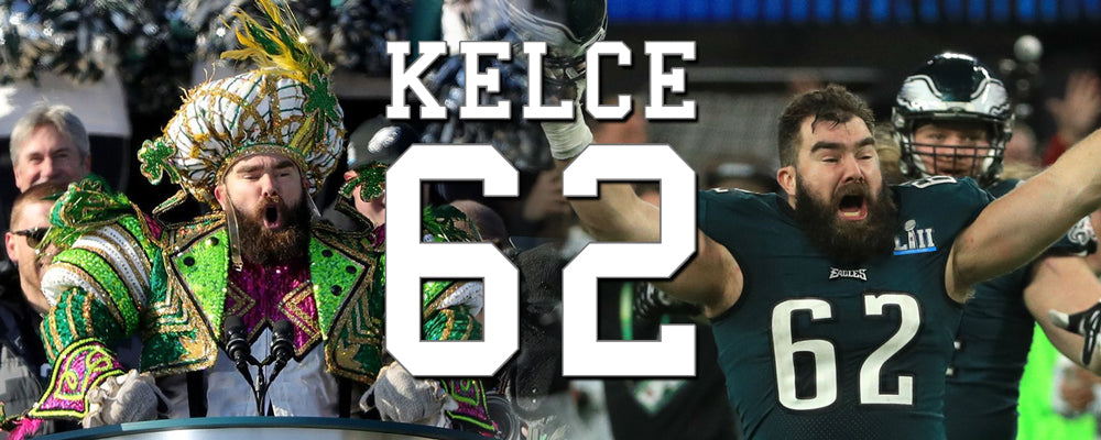 Shop all Jason Kelce inspired clothing