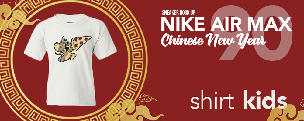Kid's T-Shirts to match Nike Air Max 90 Chinese New Year 2020 Sneakers