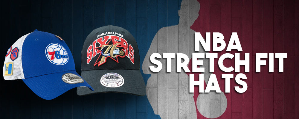 Shop all NBA strech fit caps