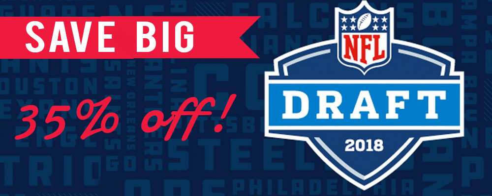 Shop 2018 On Field NFL Draft Day Hats