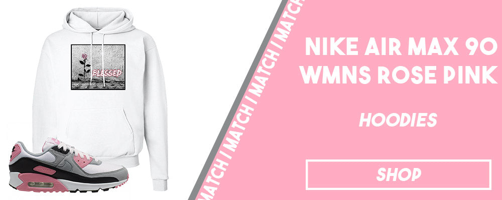 Air Max 90 WMNS Rose Pink | Hoodies to match sneakers