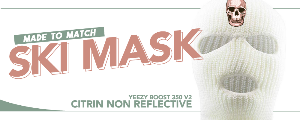 Ski Masks To Match Yeezy Boost 350 V2 Citrin Sneakers