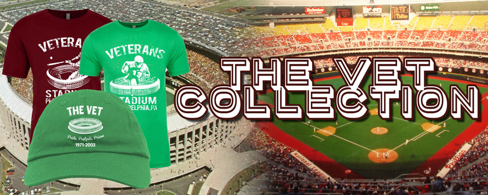 Shop all veterans stadium inspired clothing