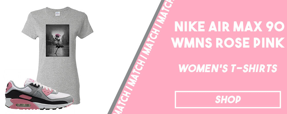 Air Max 90 WMNS Rose Pink | Women's t-shirts to match sneakers