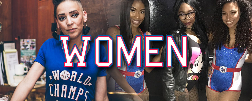 Shop all Philadelphia 76ers women's clothing