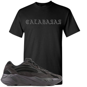 Adidas Yeezy Boost 700 v2 Vanta Sneaker Hook Up Calabasas Black T-Shirt