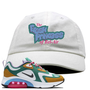 Nike WMNS Air Max 200 Mystic Green Sneaker Hook Up Fresh Princess White Dad Hat