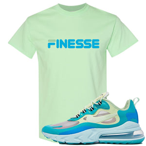 Nike Air Max 270 React Hyper Jade Sneaker Hook Up Finesse Mint T-Shirt