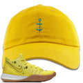 Spongebob Squarepants x Nike Kyrie 5 SpongeBob Sneaker Hook Up Anchor Yellow Dad Hat