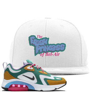 Nike WMNS Air Max 200 Mystic Green Sneaker Hook Up Fresh Princess White Snapback