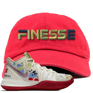 Bandulu x Nike Kyrie 5 Sneaker Hook Up Finesse Red Dad Hat