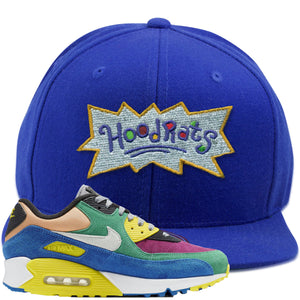 Nike Air Max 90 Viotech 2.0 Sneaker Hook Up Hoodrats Blue Snapback