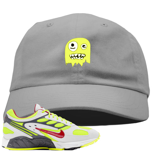 Nike Air Ghost Racer Neon Yellow Sneaker Match Ghost Light Gray Dad Hat