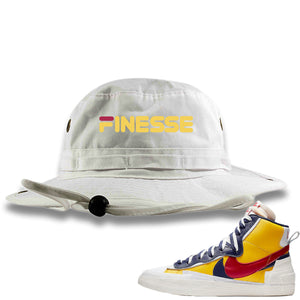 Air Max Sacai Blazer Mid Varsity Maize Sneaker Hook Up Finesse White Bucket Hat