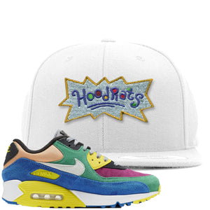 Nike Air Max 90 Viotech 2.0 Sneaker Hook Up Hoodrats White Snapback
