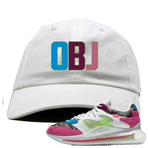 OBJ x Nike Air Max 720 Sneaker Match OBJ White Dad Hat