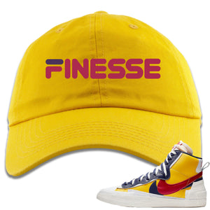 Air Max Sacai Blazer Mid Varsity Maize Sneaker Hook Up Finesse Yellow Dad Hat