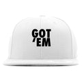 Air Jordan 3 Tinker Black Cement Sneaker Hook Up Got Em White Snapback