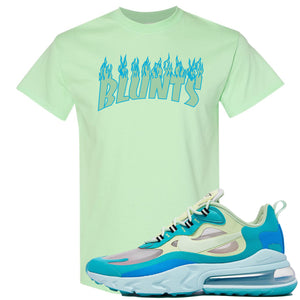 Nike Air Max 270 React Hyper Jade Sneaker Hook Up Blunts Mint T-Shirt