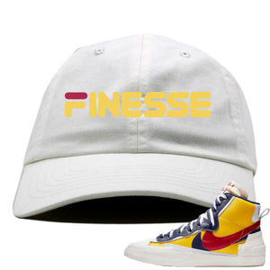 Air Max Sacai Blazer Mid Varsity Maize Sneaker Hook Up Finesse White Dad Hat