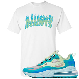 Nike Air Max 270 React Hyper Jade Sneaker Hook Up Blunts White T-Shirt