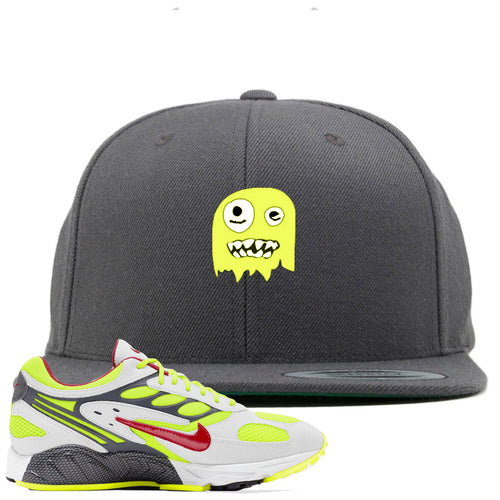 Nike Air Ghost Racer Neon Yellow Sneaker Match Ghost Dark Gray Snapback