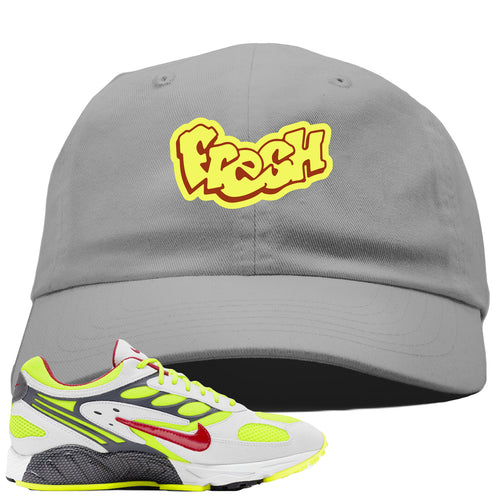 Nike Air Ghost Racer Neon Yellow Sneaker Match Fresh Light Gray Dad Hat