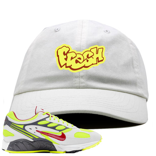 Nike Air Ghost Racer Neon Yellow Sneaker Match Fresh White Dad Hat