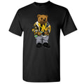 "Air Jordan 14 University Gold ""Reverse Ferari"" Sneaker Hook Up Sweater Bear Black T-Shirt"