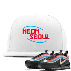 Air Max 97 Neon Seoul Sneaker Hook Up Neon Seoul in English White Snapback