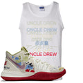 Bandulu x Nike Kyrie 5 Sneaker Hook Up Uncle Drew Multi Language White Mens Tank Top