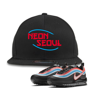 Air Max 97 Neon Seoul Sneaker Hook Up Neon Seoul in English Black Snapback