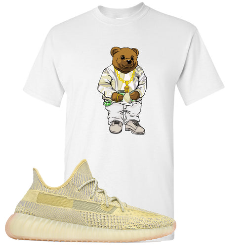 Adidas Yeezy Boost 350 V2 Antlia Sneaker Match Biggie Bear White T-Shirt