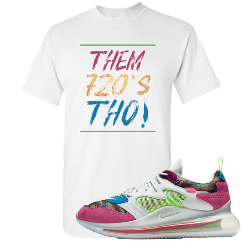 OBJ x Nike Air Max 720 Sneaker Match Them 720's Tho White T-Shirt