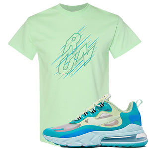 Nike Air Max 270 React Hyper Jade Sneaker Hook Up Run Mint T-Shirt