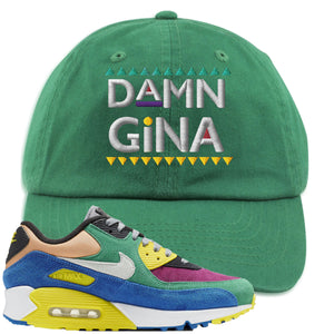 Nike Air Max 90 Viotech 2.0 Sneaker Hook Up Damn Gina Kelly Green Dad Hat