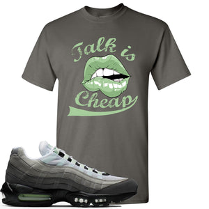 Nike Air Max 95 Fresh Mint Sneaker Hook Up Talk is Cheap Charcoal T-Shirt