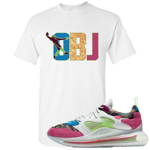 OBJ x Nike Air Max 720 Sneaker Hook Up OBJ White T-Shirt