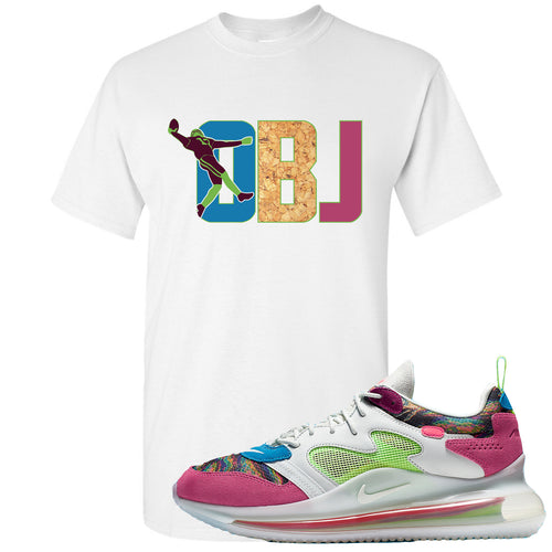 OBJ x Nike Air Max 720 Sneaker Match OBJ White T-Shirt