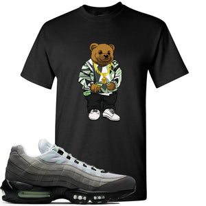 Nike Air Max 95 Fresh Mint Sneaker Hook Up Sweater Bear Black T-Shirt
