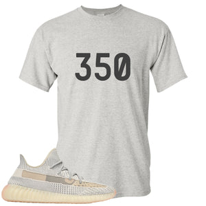 Adidas Yeezy Boost 350 v2 Lundmark Sneaker Hook Up 350 Sports Grey T-Shirt