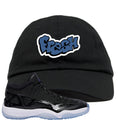 Air Jordan 11 Low IE Space Jam Sneaker Hook Up Fresh Black Dad Hat