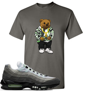 Nike Air Max 95 Fresh Mint Sneaker Hook Up Sweater Bear Charcoal T-Shirt