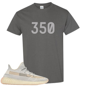 Adidas Yeezy Boost 350 v2 Lundmark Sneaker Hook Up 350 Charcoal Gray T-Shirt