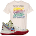 Bandulu x Nike Kyrie 5 Sneaker Hook Up Calm Down Natural T-Shirt