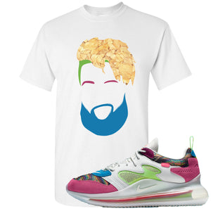 OBJ x Nike Air Max 720 Sneaker Hook Up OBJ Head White T-Shirt