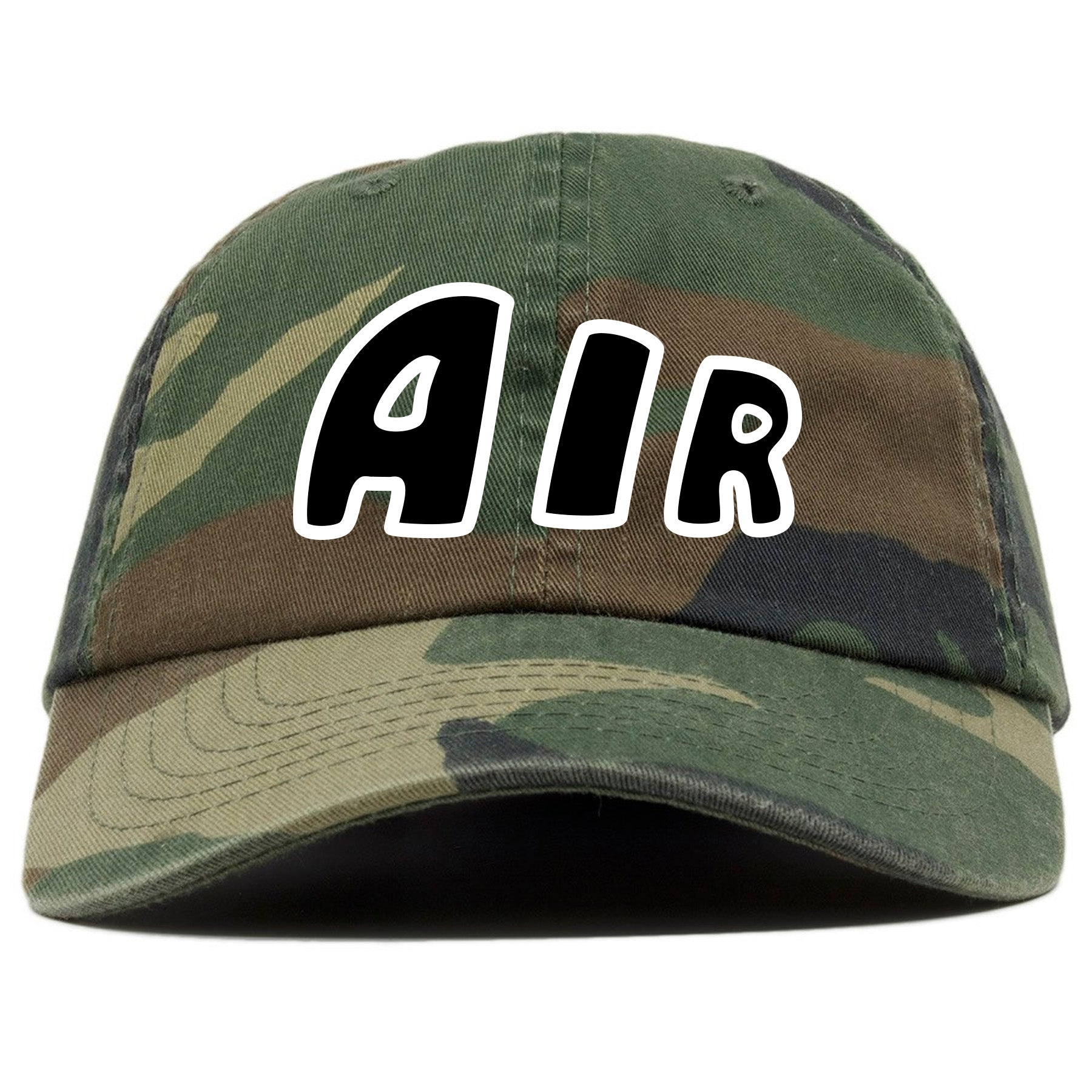 new images of official supplier sleek Nike Air More Uptempo Camo Sneaker Match Air Camouflage Dad Hat