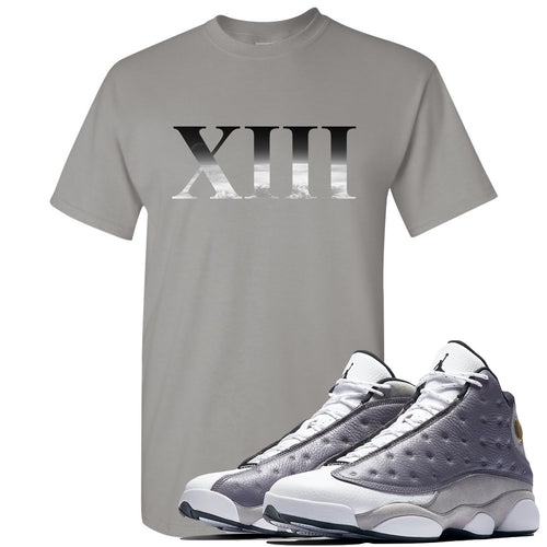Jordan 13 Atmosphere Grey XIII Light Gray Shirt